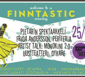 A FINNTASTIC EVENING @ FINLANDS- INSTITUTET 25.4!